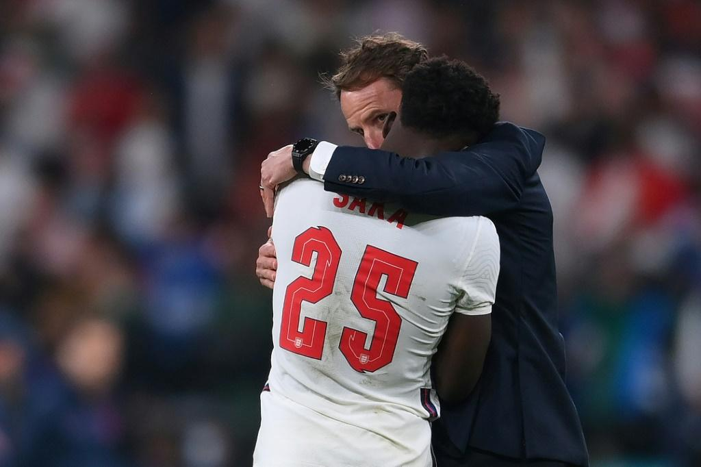 A leading figure at a consultancy that aims to use sport for social good says racist online abuse of stars like England footballer Bukayo Saka must be met with a stronger response by sports bodies