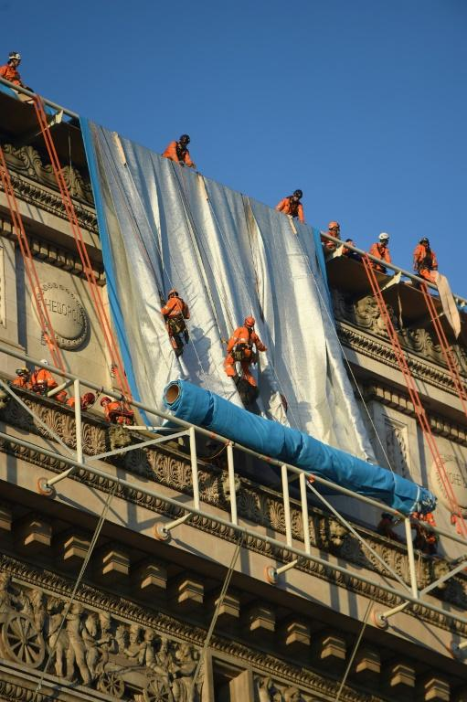 Christo had dreamed of the project since living nearby in the 1960s