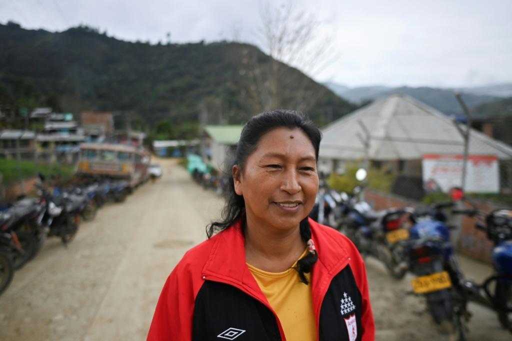 Death is a constant companion for indigenous defenders of nature in violence-ridden Colombia, and Celia Umenza has already survived three attempts on her life