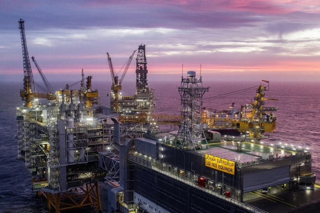 The oil sector accounts for 14 percent of Norway's gross domestic product, as well as 40 percent of its exports