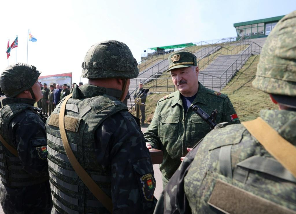 """We cannot relax, taking into account the experience of 1941,"""" Lukashenko said"""
