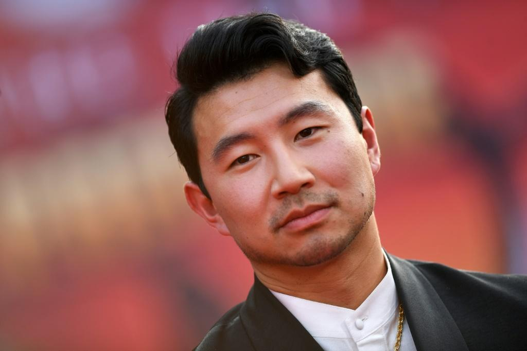 """Chinese-Canadian actor Simu Liu is the star of """"Shang-Chi and the Legend of the Ten Rings"""" -- again top at the North American box office"""