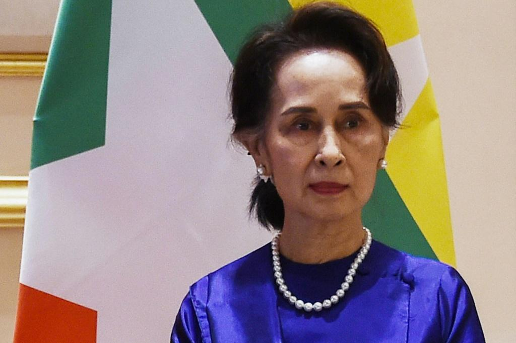 Myanmar leader Aung San Suu Kyi was ousted in a military coup earlier this year