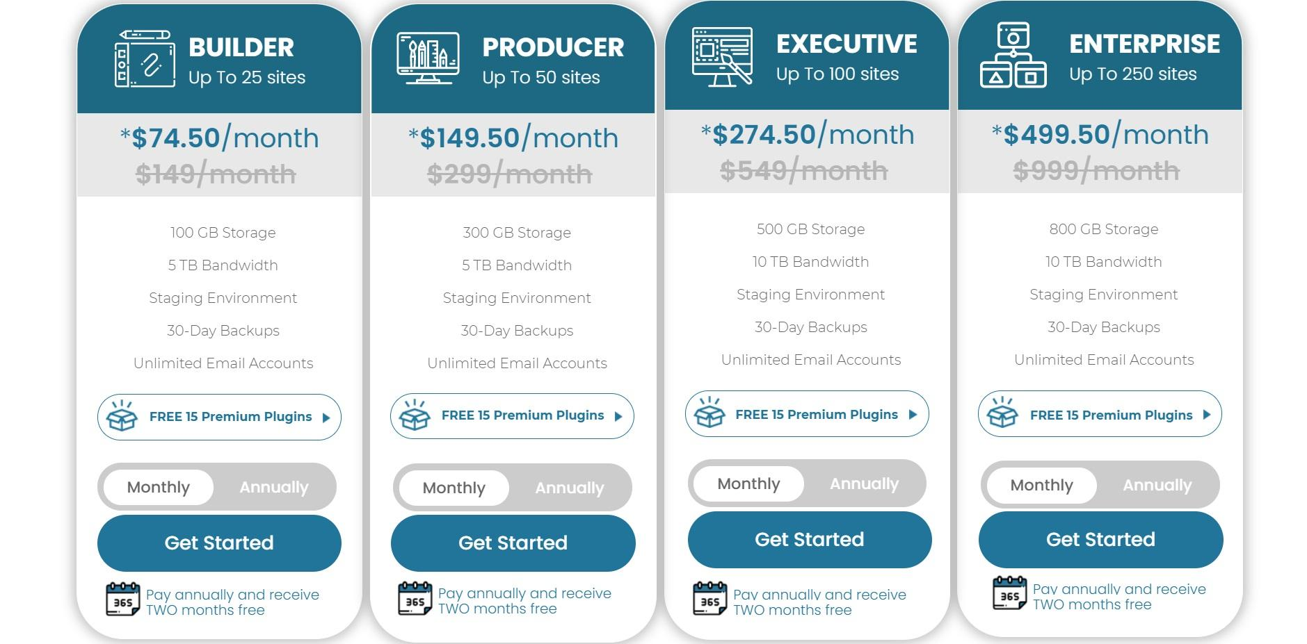 Nexcess pricing for companies