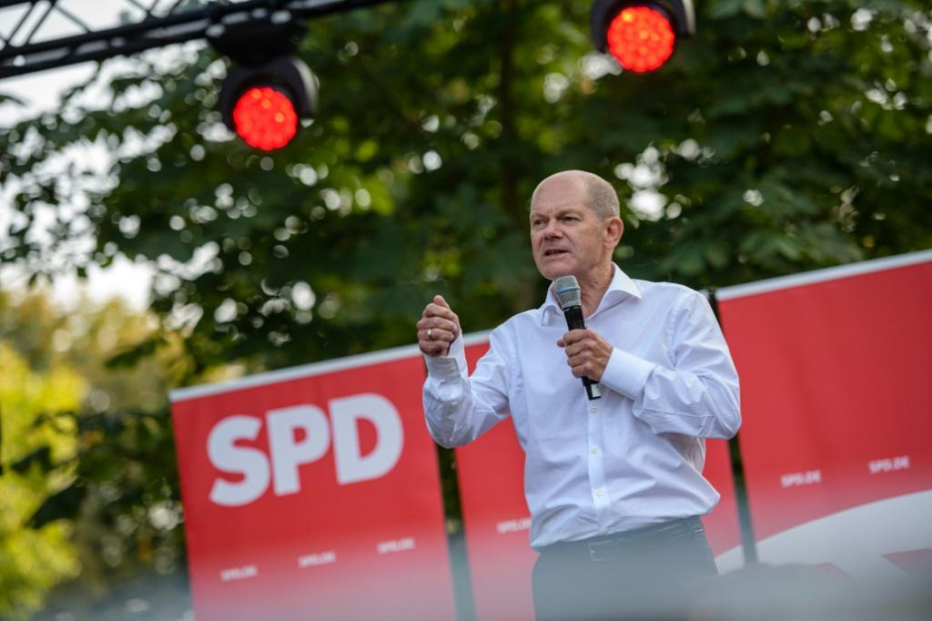 Scholz was caught out on the campaign trail in June for not knowing the price of petrol