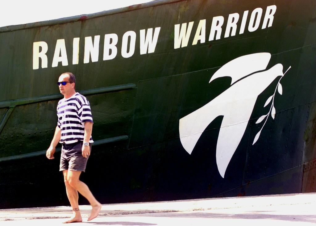 The first 'Rainbow Warrior' was bombed by the French secret service, but the group has continue to use the name