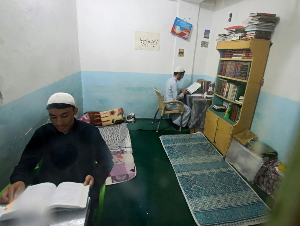 While members of Afghanistan's Hazara community feel safe in Najaf for now, they fear for their families back home