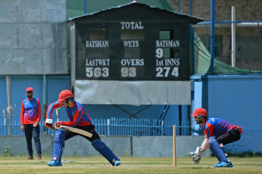 Afghanistan's men's team train in Kabul. The former Afghan women's cricket chief is pleading with international teams not to punish them by boycotting matches if the the Taliban ban women's sport