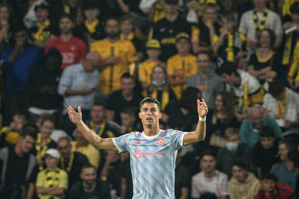 Cristiano Ronaldo's third goal in two games for Manchester United came in vain against Swiss champions Young Boys