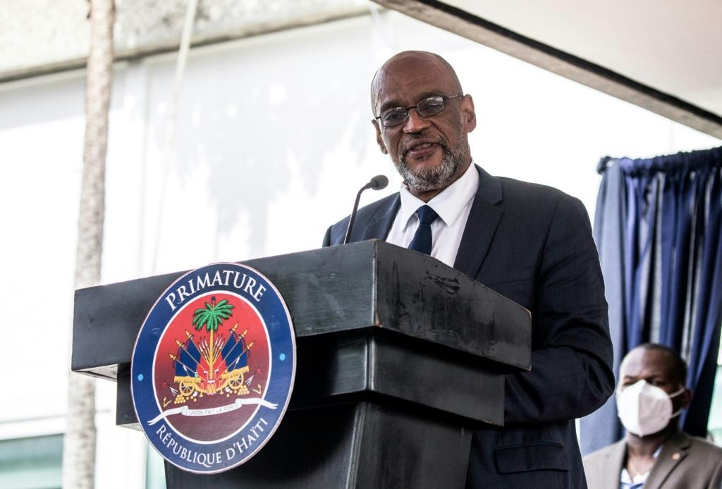 Haitian Prime Minister Ariel Henry, who may face charges linked to the assassination of president Jovenel Moise in July
