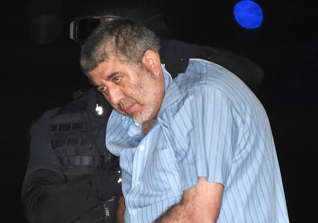 Mexican former cartel boss Vicente Carrillo Fuentes, seen here after his arrest in 2014, has been sentenced to 28 years in prison