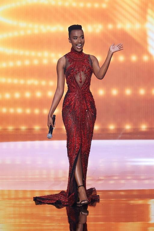 South Africa's Zozibini Tunzi became the first black woman with a short, natural haircut to be crowned Miss Universe