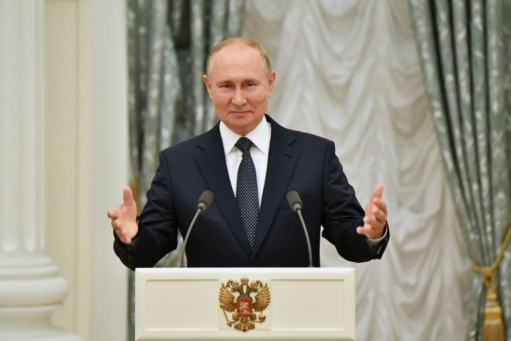 """The Kremlin said Putin was """"absolutely healthy"""" after the cases were reported in his inner circle"""