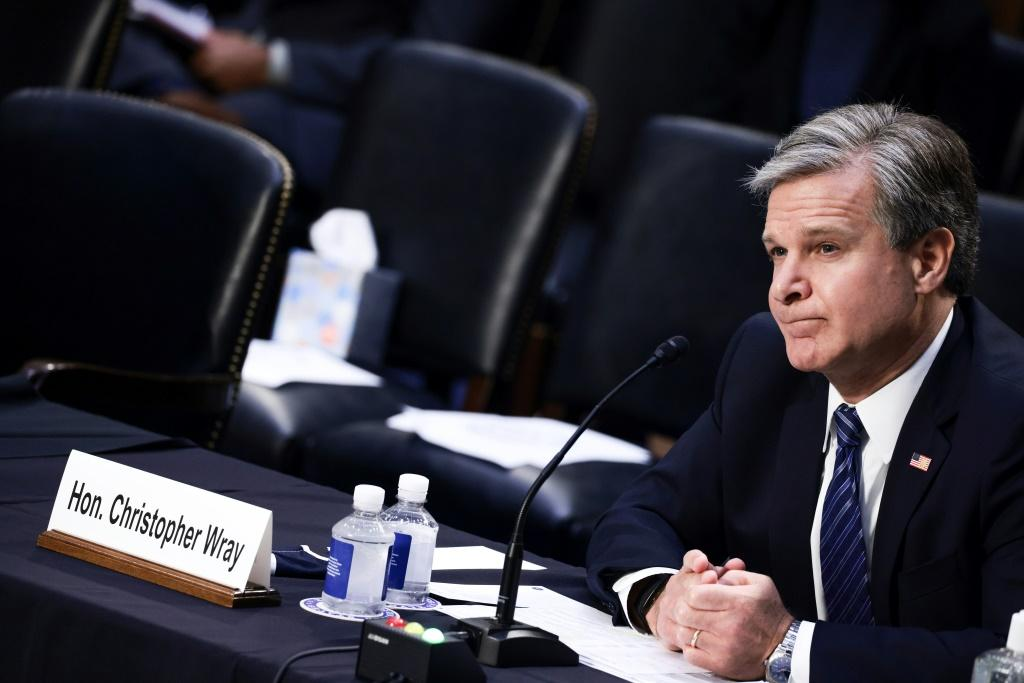 FBI Director Christopher Wray testifying to the Senate Judiciary Committee about the bureau's handling of the investigation into sexual abuse by former USA Gymnastics team doctor Larry Nassar