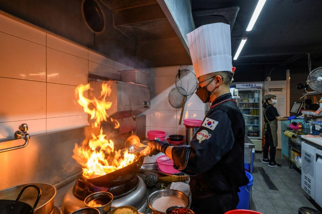 For many in the Asia's densely populated cities, where living space is at a premium, eating daily from cheap restaurants or food stalls is more affordable and viable than cooking at home