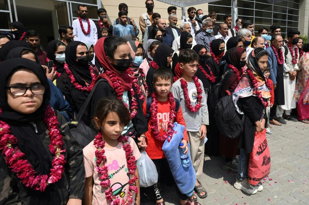 In total, more than 75 people crossed the northern border after the Taliban swept back into power