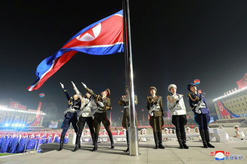 North Korea celebrated the 73rd anniversary of its founding with a parade earlier this month in Kim Il Sung Square in Pyongyang