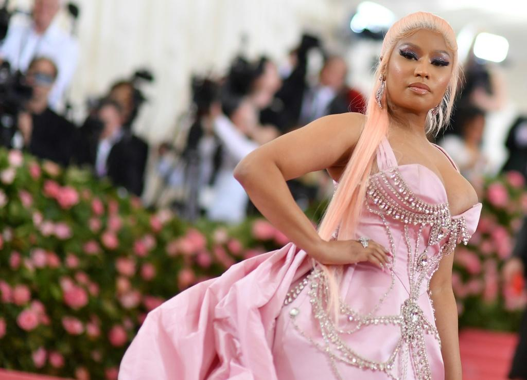 US rapper Nicki Minaj revealed to her 22.6 million Twitter followers she had not yet been vaccinated