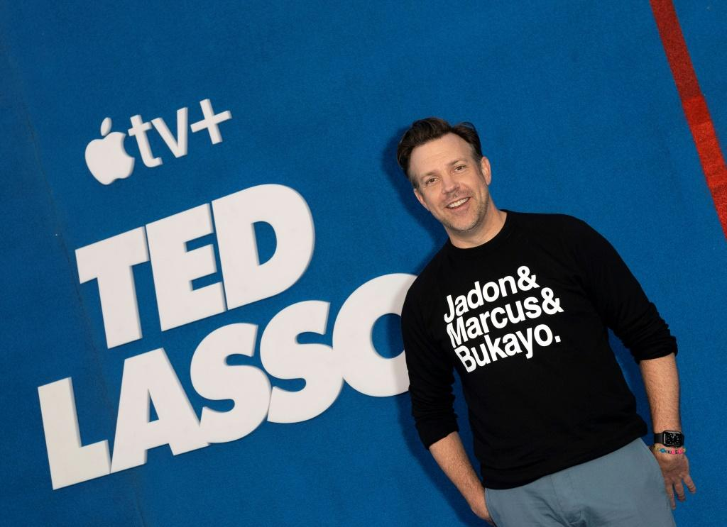 """Apple TV+ comedy """"Ted Lasso"""" -- which stars Jason Sudeikis -- is expected to do well on Emmys night"""