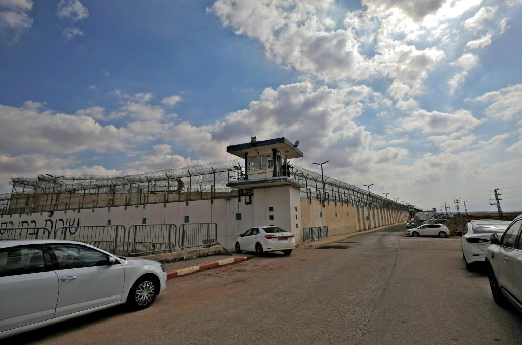The escape from Gilboa prison, pictured the day six Palestinian prisoners tunneled out on September 6, 2021, was extremely rare