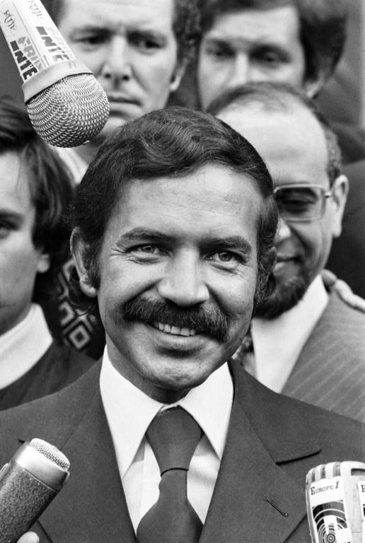 Abdelaziz Bouteflika, shown here in 1973, served as Algerian foreign minister for more than a decade
