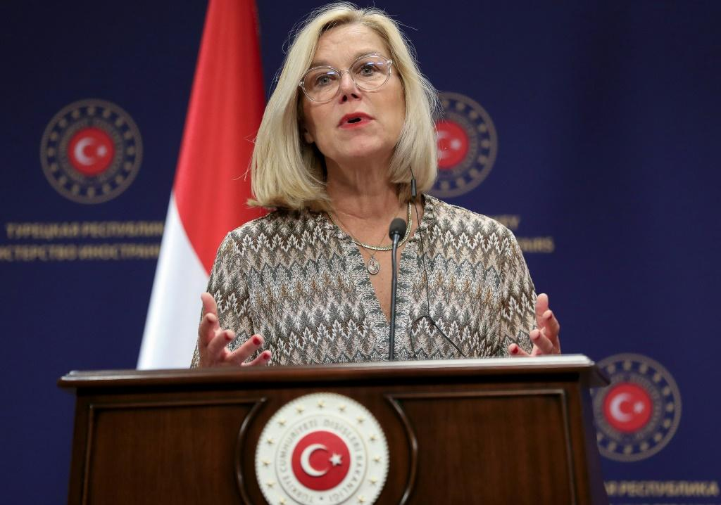 Dutch foreign minister Sigrid Kaag, pictured on September 2, 2021, resigned after parliament formally condemned her handling of the Afghanistan evacuation crisis