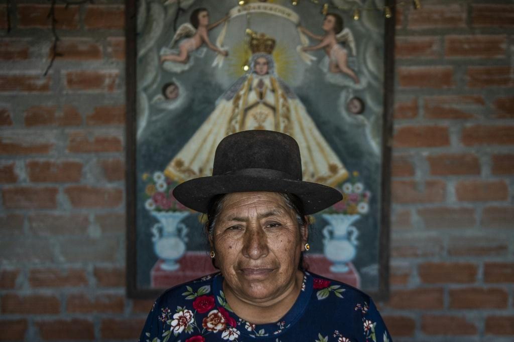 Orfelinda Quincho lost nine relatives in the massacre, including her mother and a son