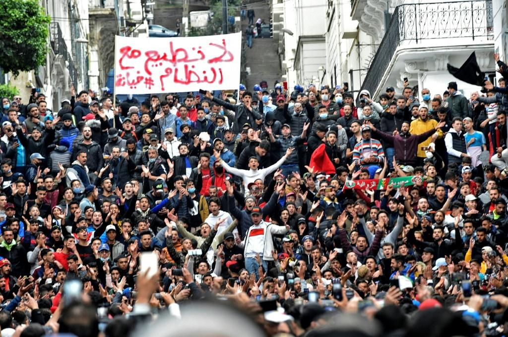 The Hirak anti-government movement continued after Bouteflika's ousting