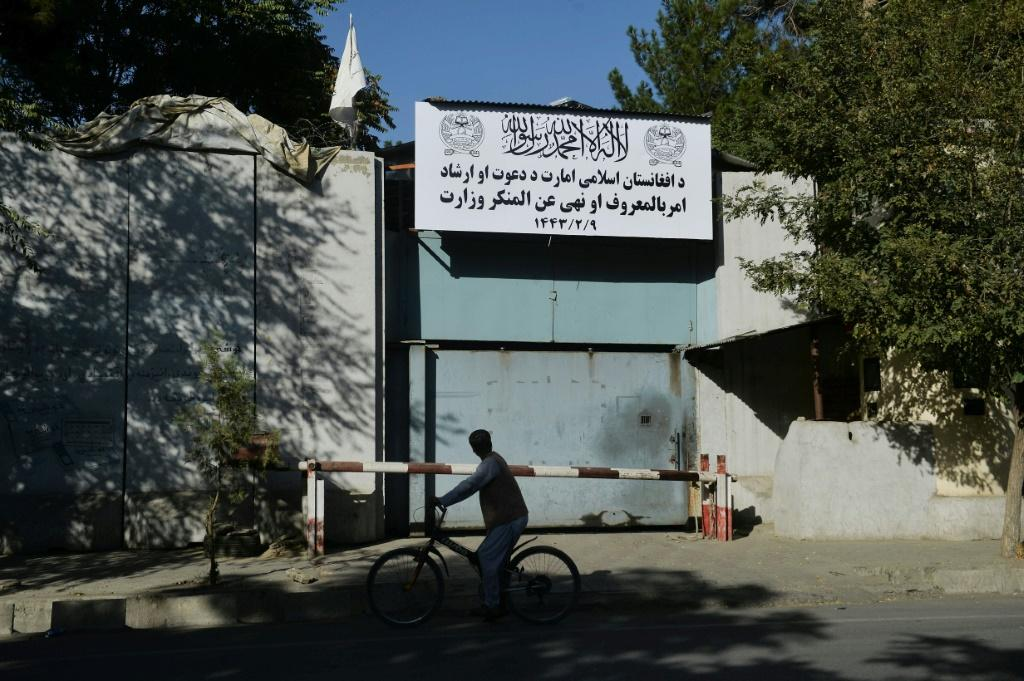 The Taliban have said they would implement a more moderate rule this time around but the reemergence of the vice ministry is seen as an ominous sign
