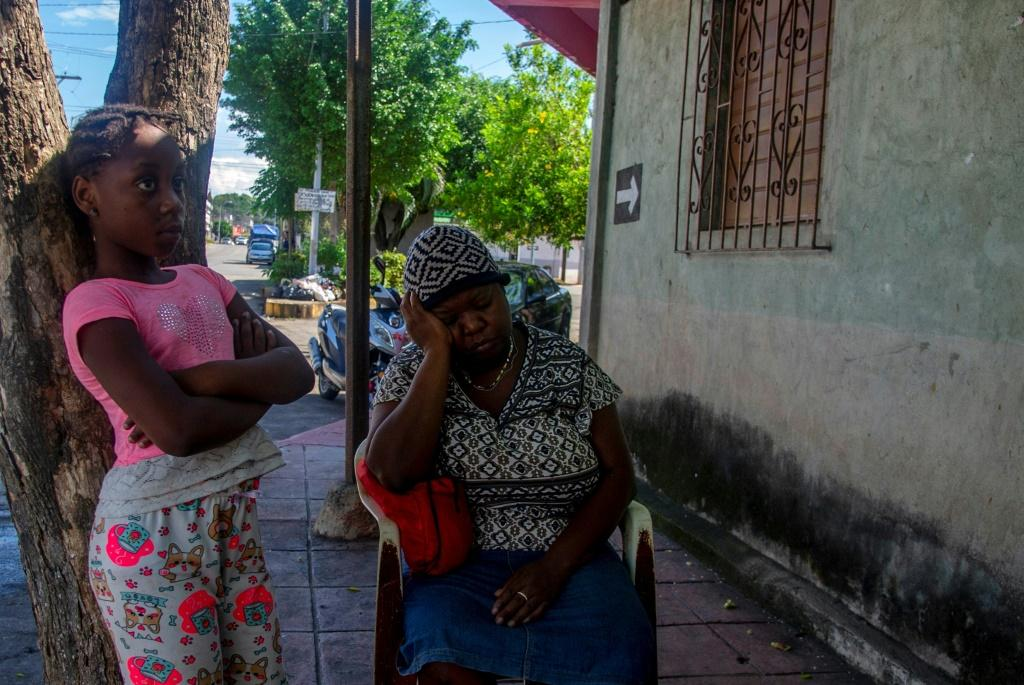 Haitian migrant Judith Joseph and her children spent two months traveling overland between Chile and Mexico