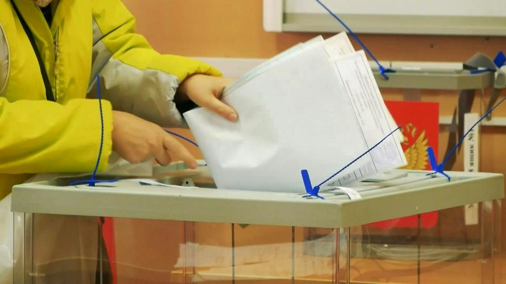 IMAGES Russians are at the polls to elect seats in the State Duma, the lower house of Russia's parliament. The election, which runs until Sunday, comes after a sweeping crackdown this year on President Vladimir Putin's opponents. Jailed Kremlin critic Al
