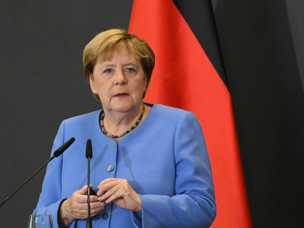 Merkel, who is retiring from politics, has largely stayed out of the race