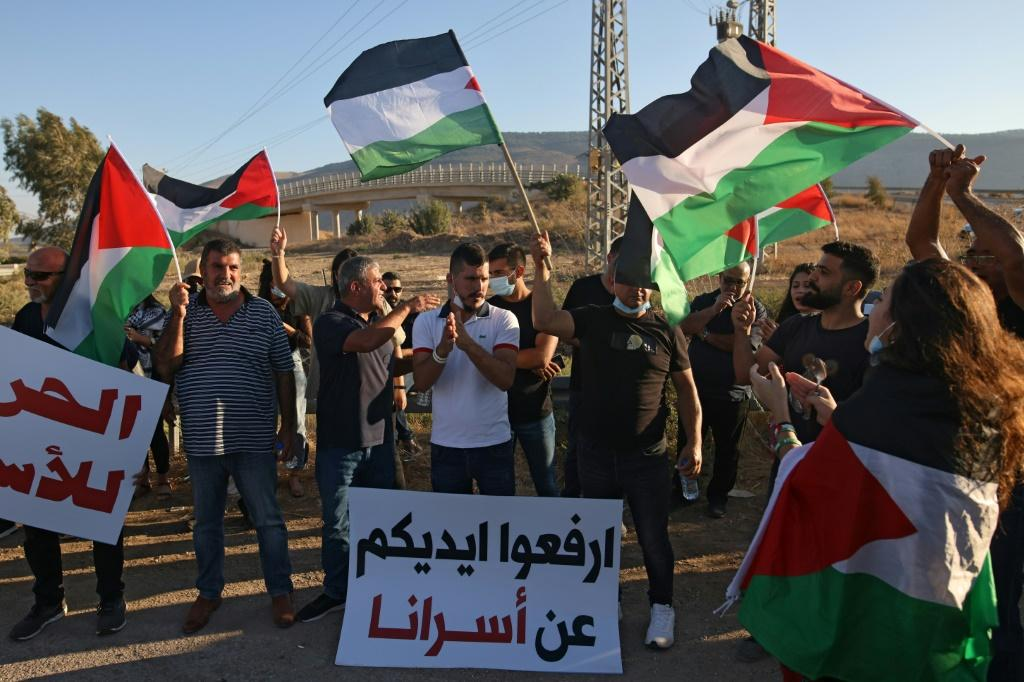 The inmates, who were being held for attacks against the Jewish state, became heroes among some Palestinians