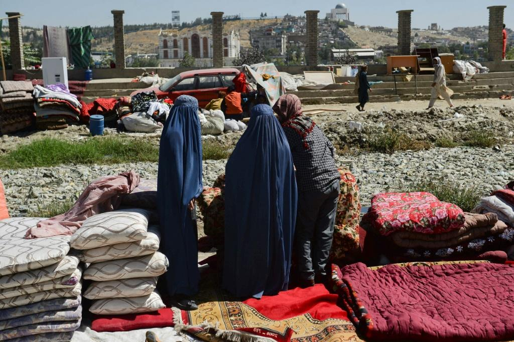 During the Taliban's first rule from 1996 to 2001, women were largely excluded from public life including being banned from leaving their homes unless accompanied by a male relative