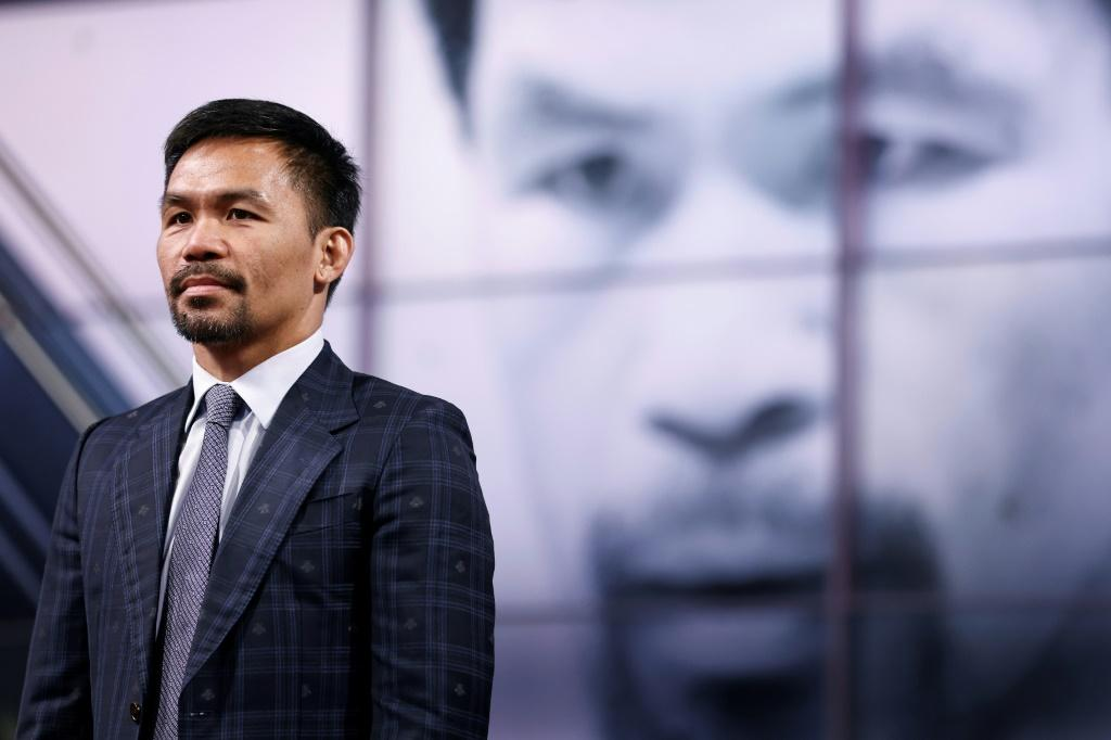 Manny Pacquiao will seek to win over voters with his rags-to-riches story
