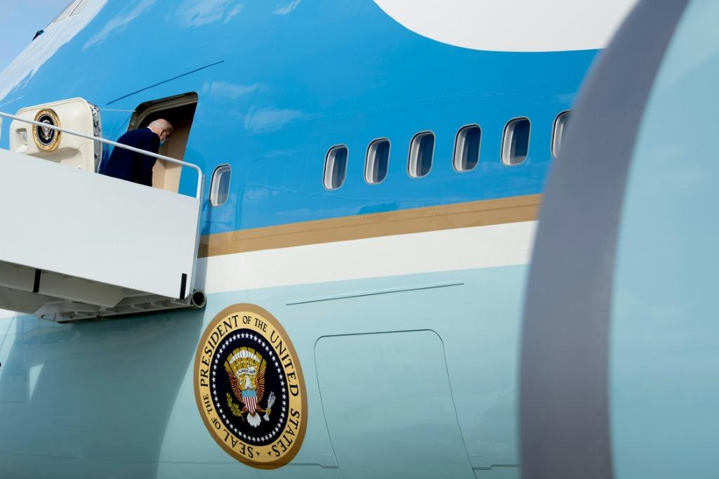 US President Joe Biden flies to the United Nations where he will vow to steer away from Cold War with China and work to resolving the Covid-19 pandemic