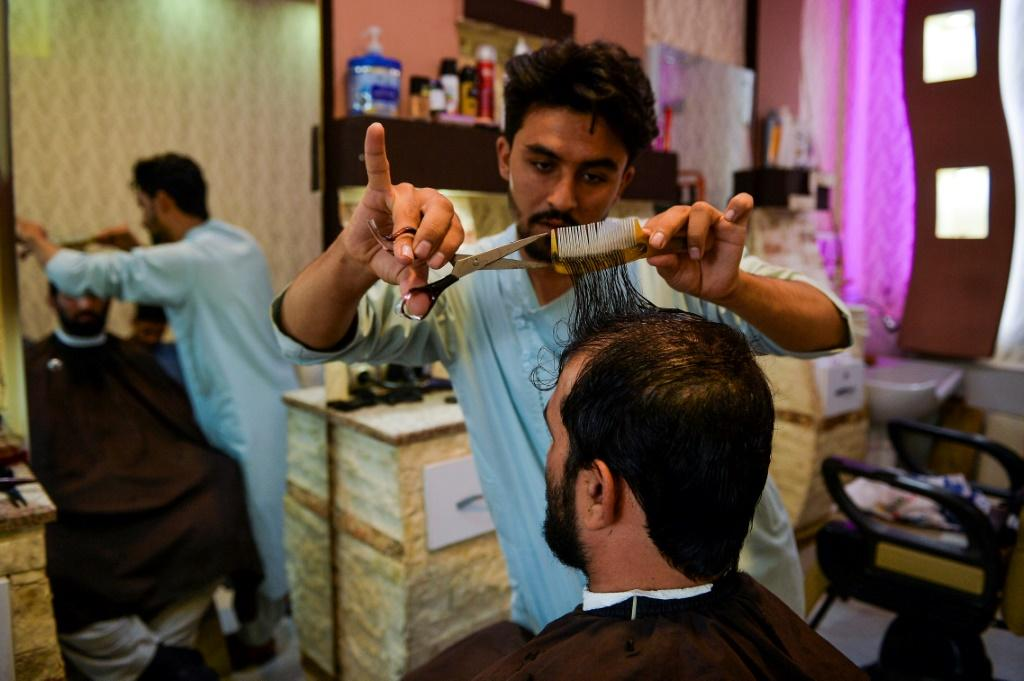 After the Taliban's first stint in power ended, being clean-shaven was often considered a sign of modernity