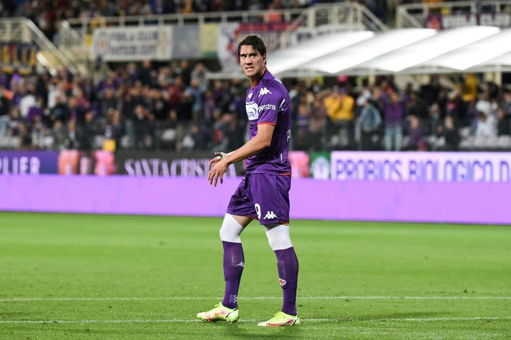 Highly-rated Dusan Vlahovic was among those who failed to capitalise on Fiorentina's early dominance