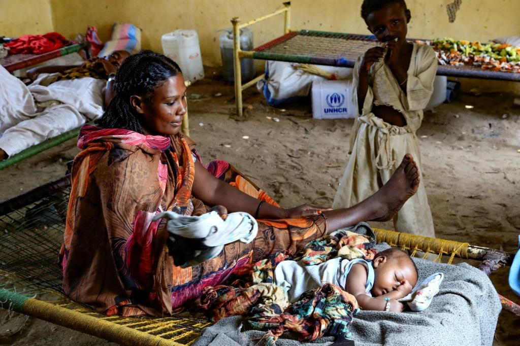 Neither Sudanese villagers nor the refugees were prepared for the inundation