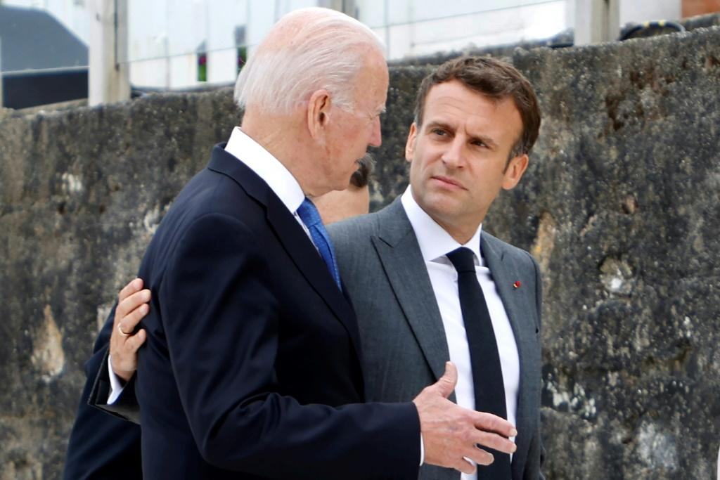 No longer this happy together: France wants 'clarifications' from Biden