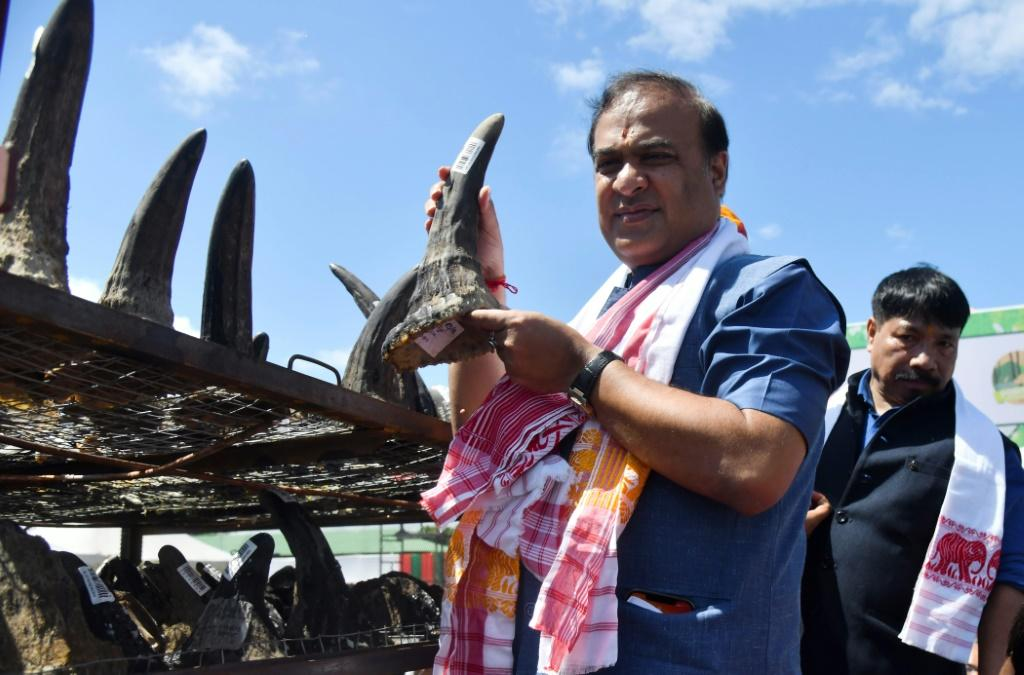 Assam's Chief Minister Himanta Biswa Sarma was at the ceremony in the town of Bokakhat