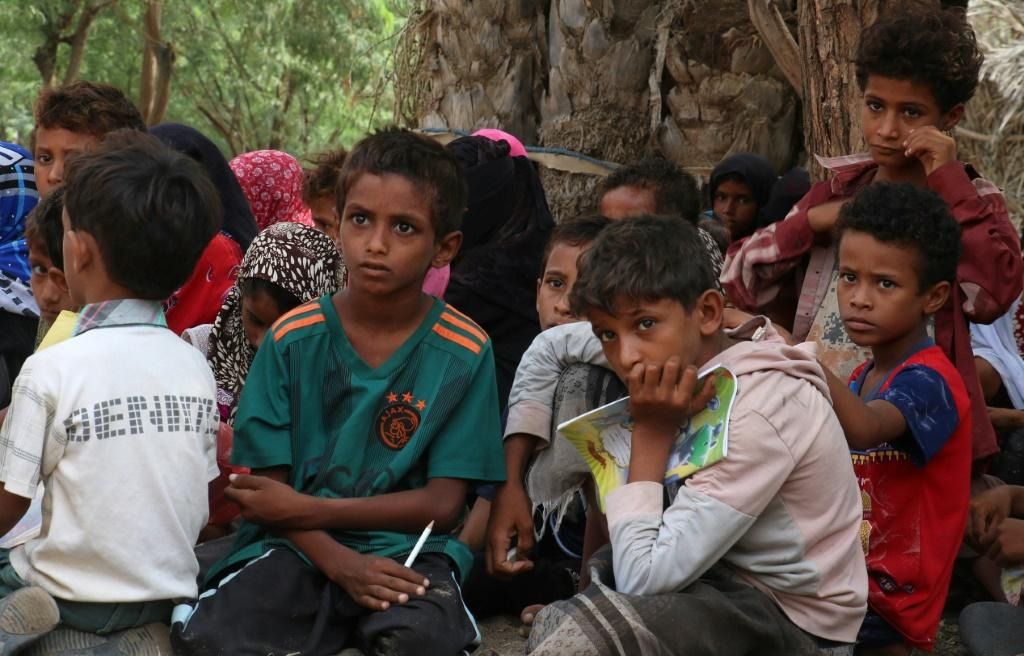 More than 2,500 schools in the country are unfit for use, with some destroyed and others turned into refugee camps or military facilities, according to the UN's children's agency