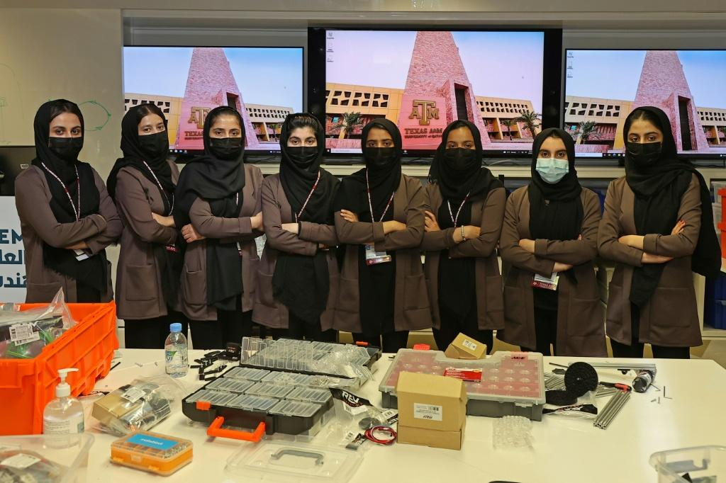Now back in education and working on their entries for a global robotics competition, the girls worry about their uncertain present but hope they can one day return to Afghanistan