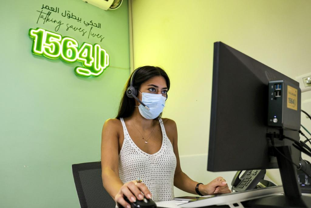 The phones at Embrace, Lebanon's only suicide-prevention hotline service, hardly ever stop ringing amid the country's crises