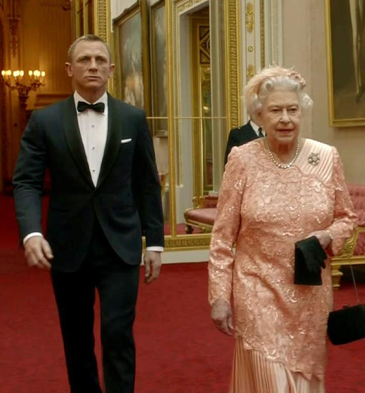 Queen Elizabeth II made a cameo appearance alongside Craig for the opening ceremony of the London 2012 Olympics