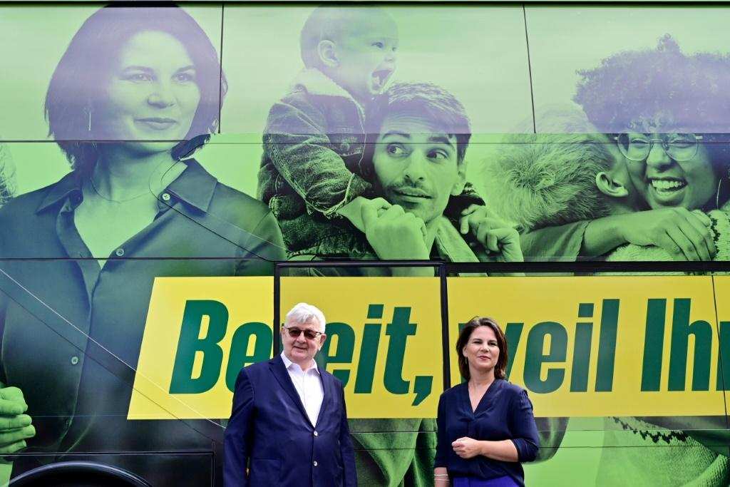"""The Greens' Annalena Baerbock is set to play """"kingmaker"""" as Germany's polls predict a knife-edge contest"""