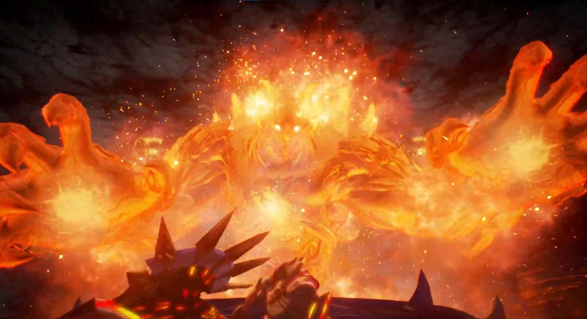 An avatar of flame will appear in the second half of Balseph's boss fight