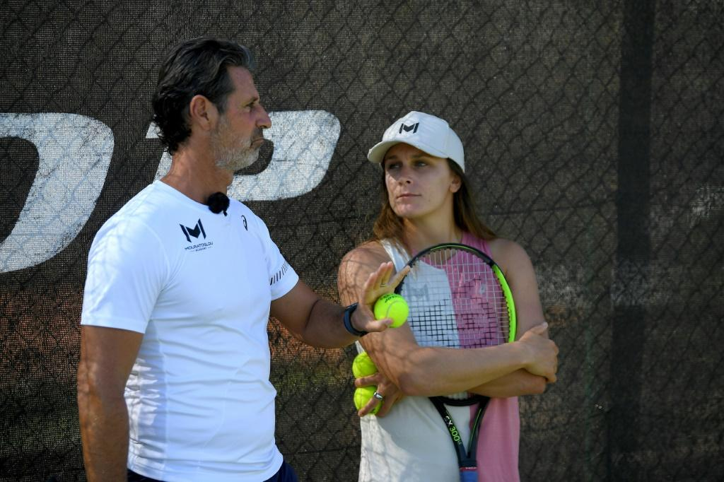 Guiding light: Patrick Mouratoglou at his tennis academy in Biot, south-eastern France
