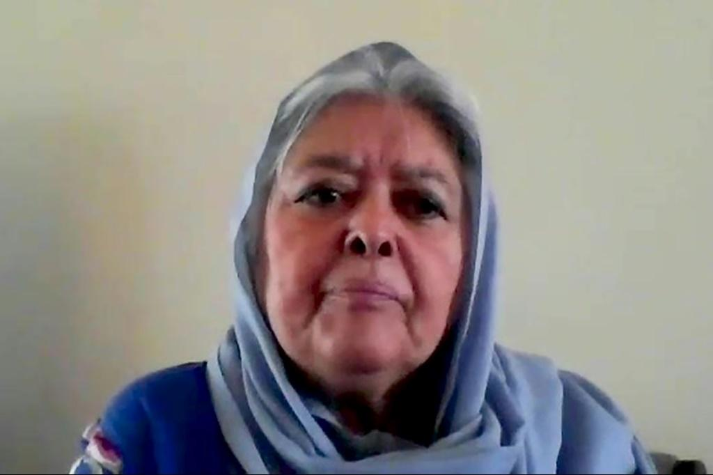 Mahbouba Seraj, 73, decided not to flee Kabul last month when the Taliban seized back power, two decades after they were ousted