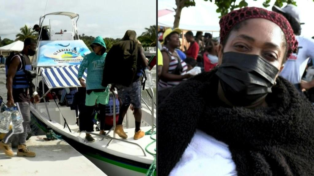 """Not going to stop"""": Haitian migrants in Colombia determined to reach US"""
